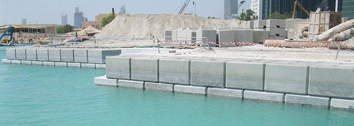 бетон гидротехнический применение