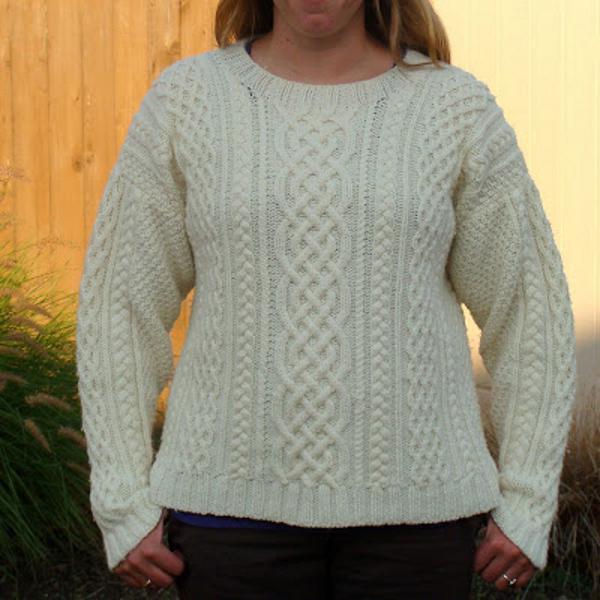 как начать вязать спицами свитер