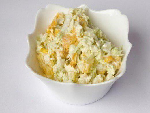 рецепт салат с яблоком и луком и