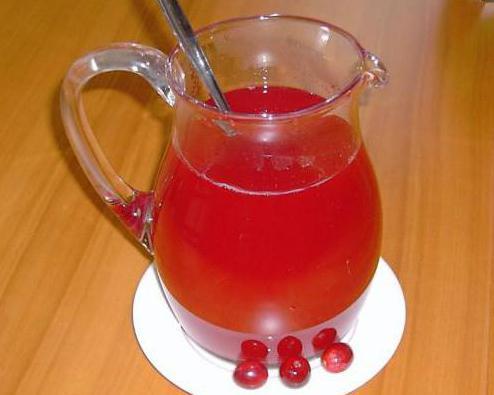 клюква с медом и лимоном рецепт