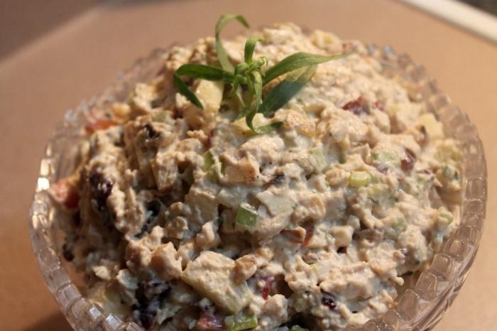 Рецепты салатов с салат грибной с орехами