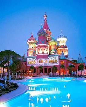 Hotel Kremlin Palace in Turkey