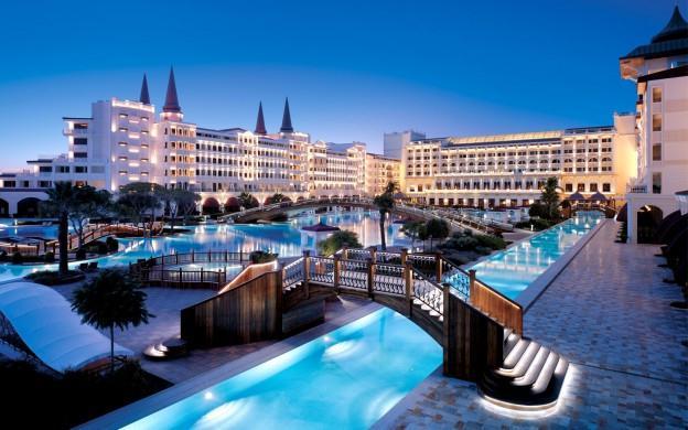 отель Тельмана Исмаилова в Турции