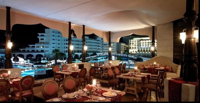 ресторан в отеле «Mardan Palace»