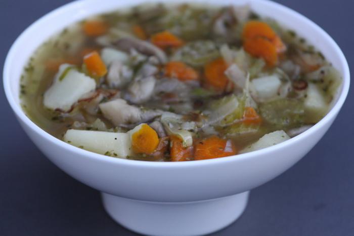 суп грибной из вешенок