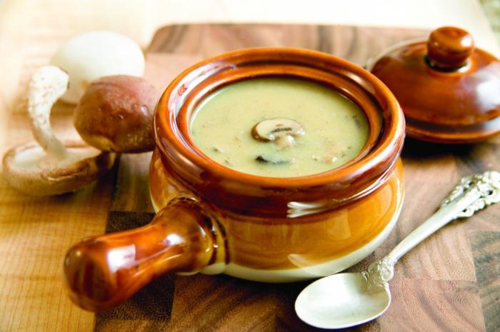 вешенки как готовить суп