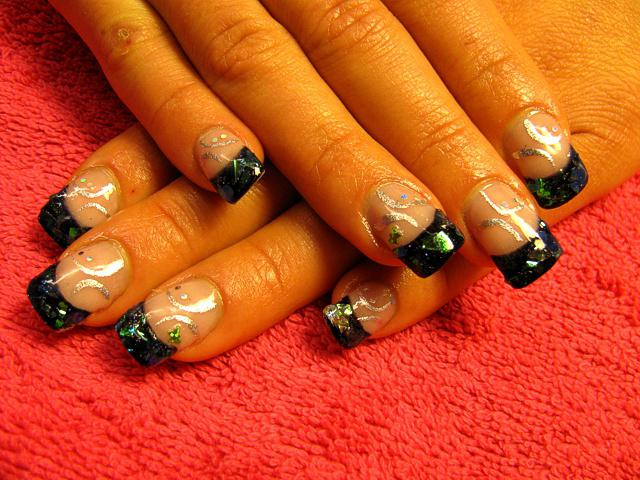 как сделать литье на ногтях