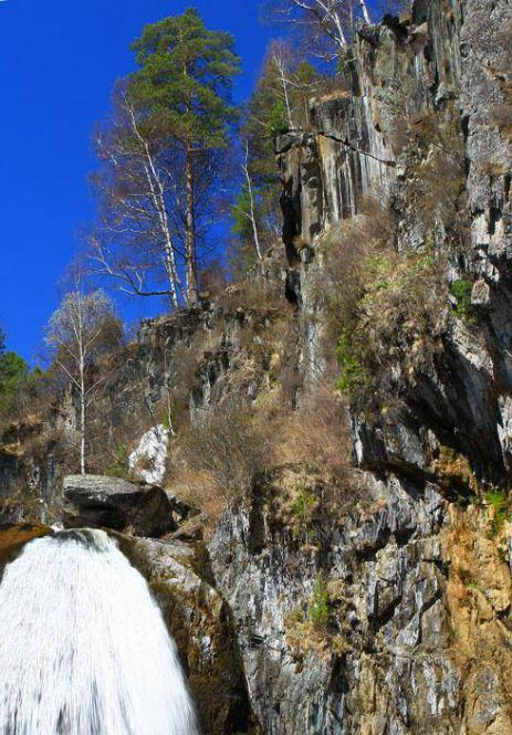 Водопад Корбу — необычное природное явление