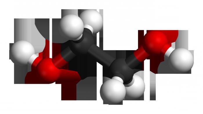 Этиленгликоль формула химические свойства