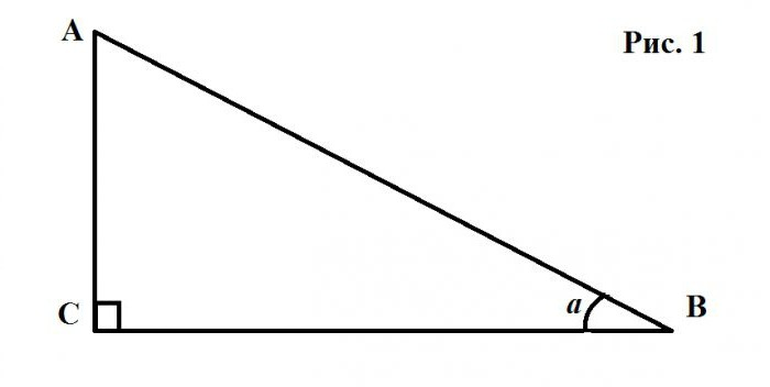 тангенс с каким знаком
