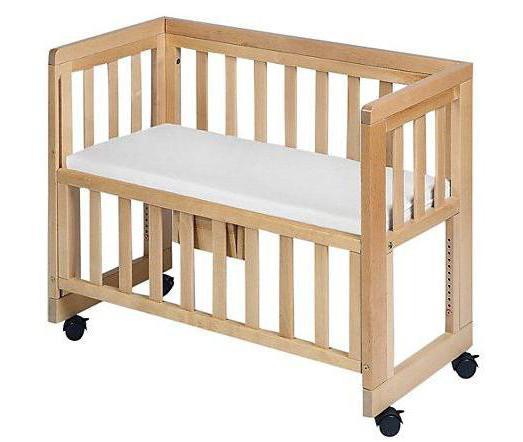 как сделать детскую приставную кроватку