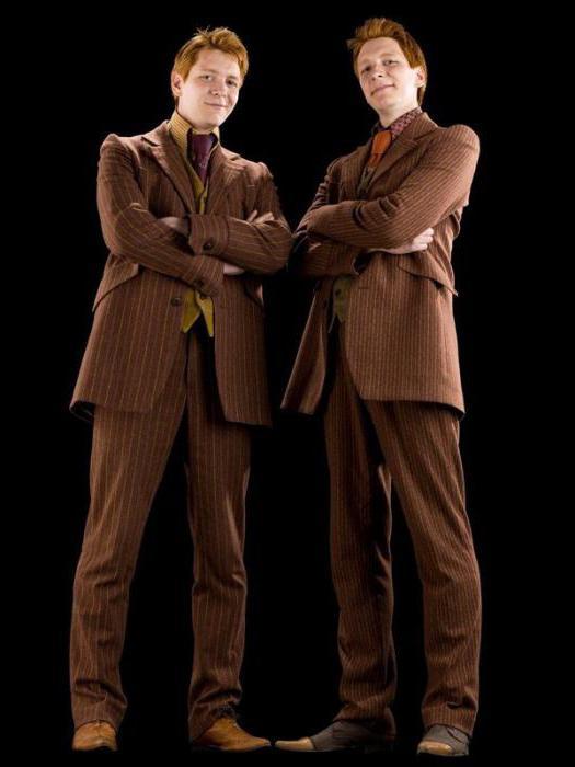 близнецы уизли актеры фото этого есть