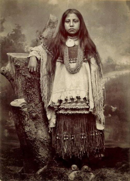 Одежда индейцев Америки