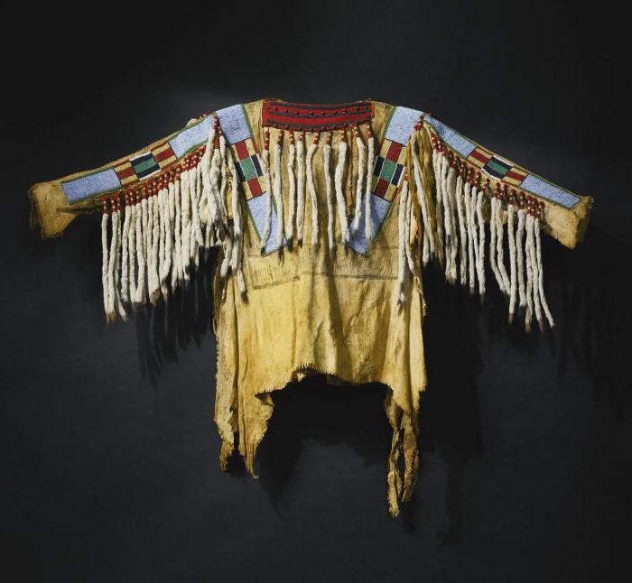 Одежда индейцев фото