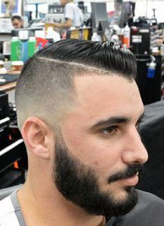 стрижка бороды машинкой для волос