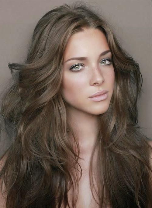 Фото цвета волос натуральных оттенков