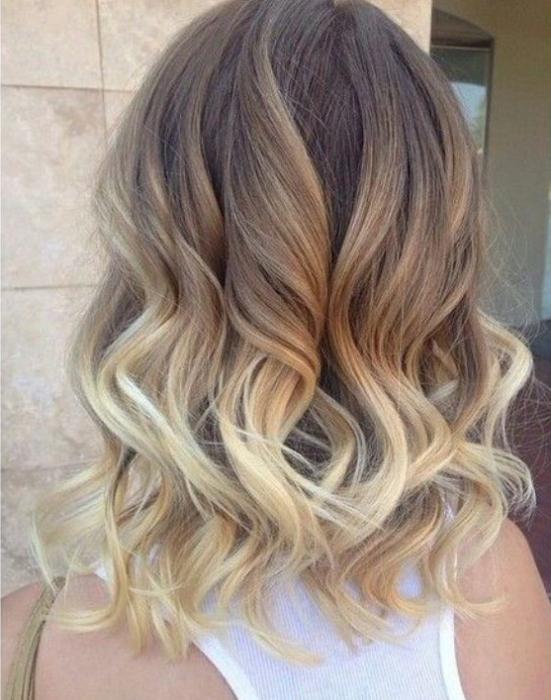 Колорирование на мелированные волосы фото - ef38