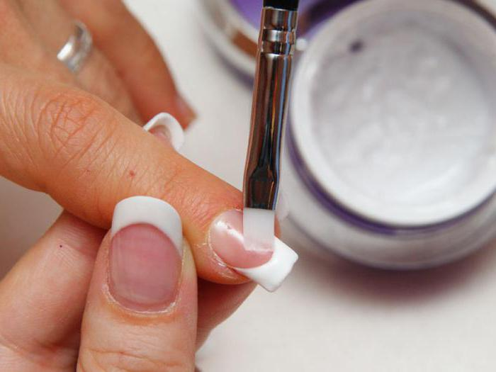 какие гели лучше использовать для наращивания ногтей
