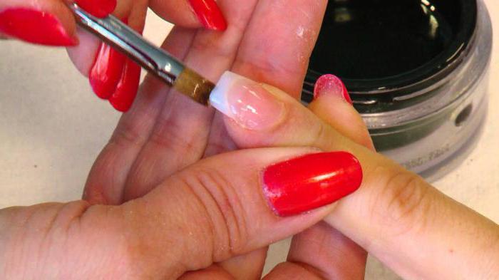 какой гель для наращивания ногтей самый лучший