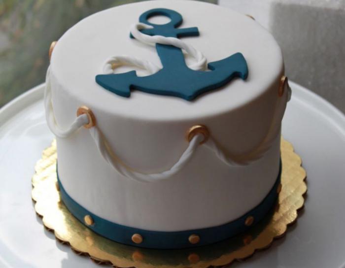 День рождения ребенка в морском стиле