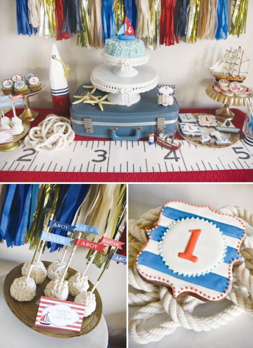 День рождения в морском стиле сценарий
