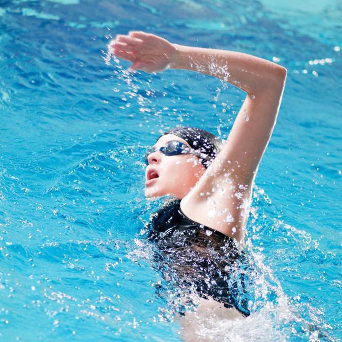 как правильно плавать для похудения в бассейне