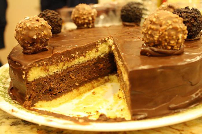торт ферреро роше пошаговый рецепт с фото