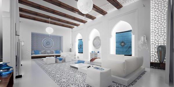 мавританский стиль сада