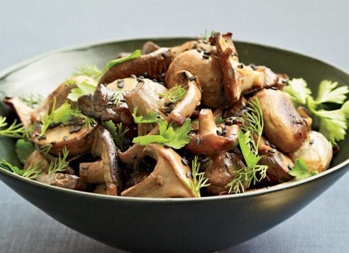 Сколько калорий в грибах, приготовленных разными способами?