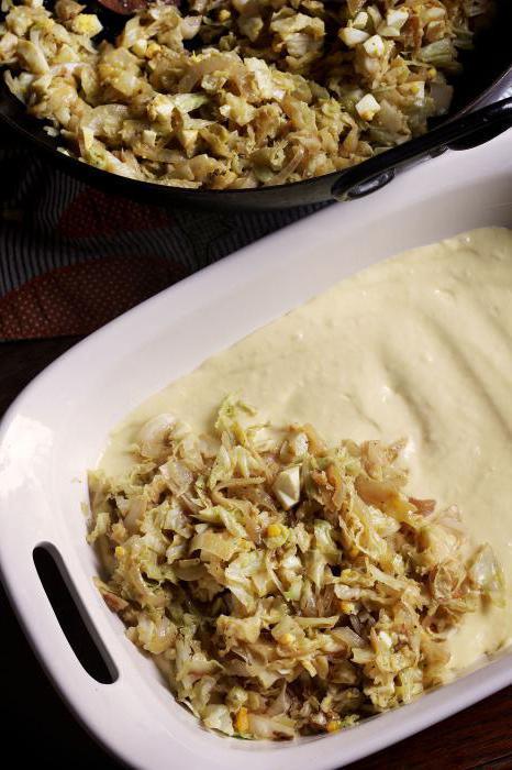 Пошаговый рецепт приготовления пирожков с капустой 7