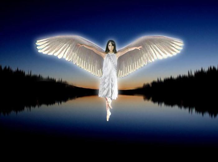 Небесные вестники во сне даже своим видением привносят благодать святого духа в жизнь человека!.