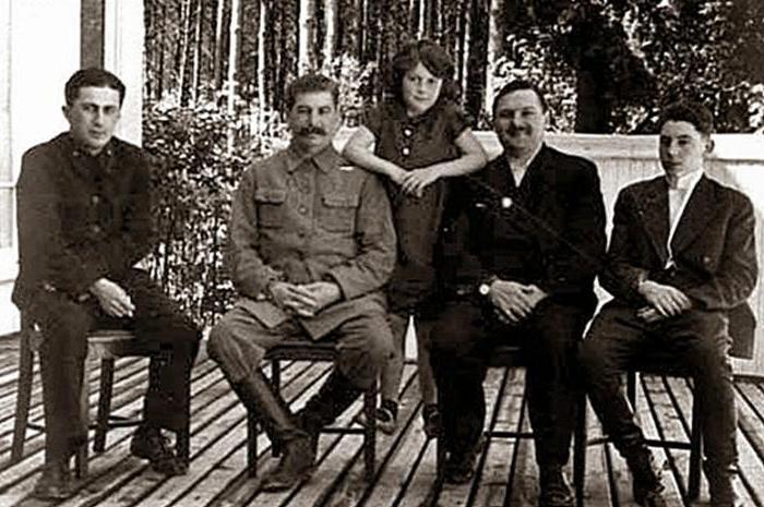 дети сталина фото