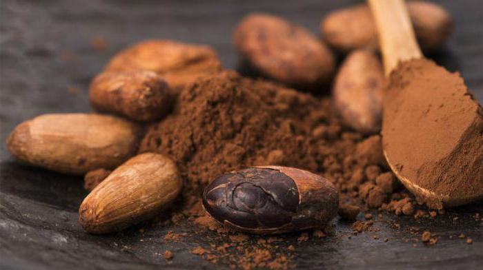 какао бобы кофеин