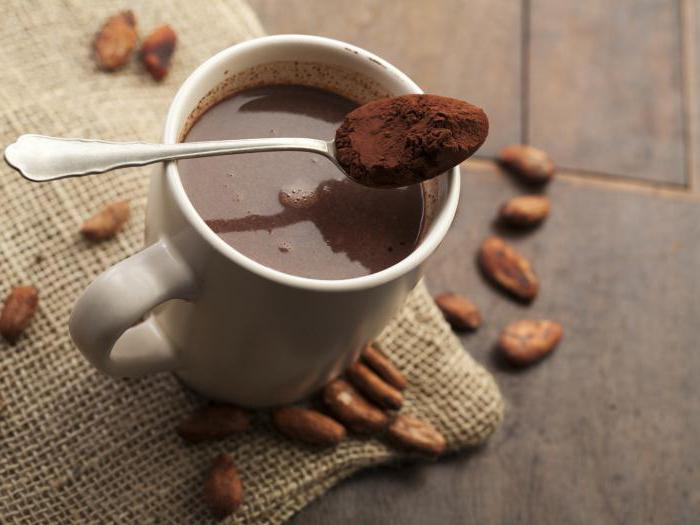 где больше кофеина в кофе или какао