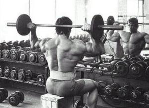 Прокачка мышц плеч