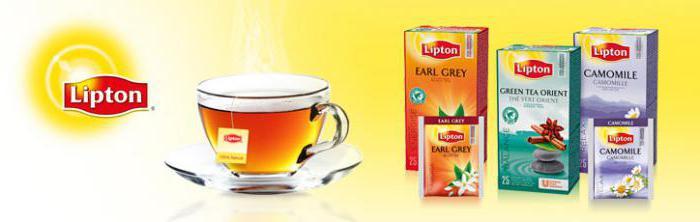 чай липтон в пакетиках