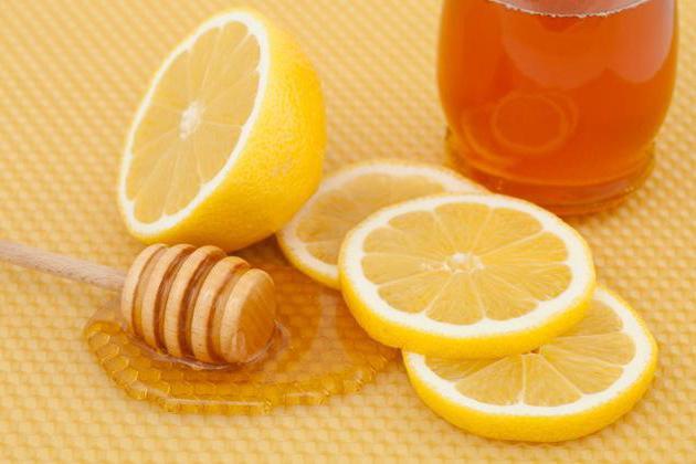 масло лимон мед