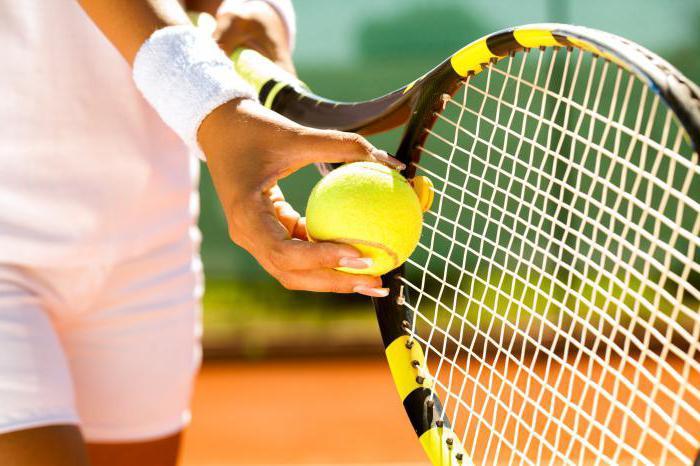 размеры ракеток для большого тенниса