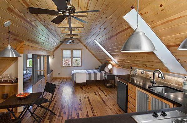 лучшие проекты деревянных домов с мансардой