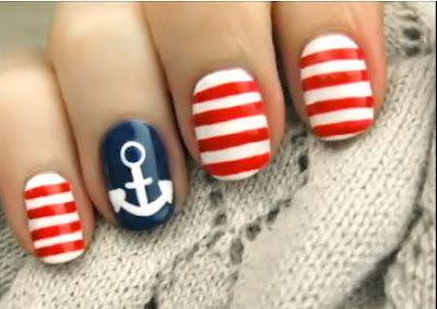 Дизайн ногтей «морской»: популярные варианты, оригинальные решения