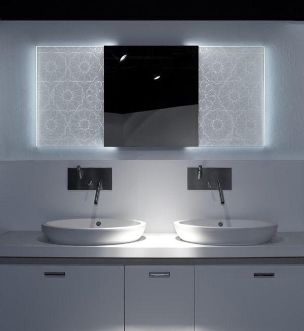 зеркало в комнату с подсветкой