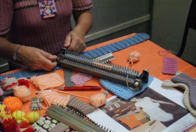 вязание на вязальной машине ивушка