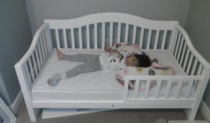 кровать детская от 3 лет с бортиками