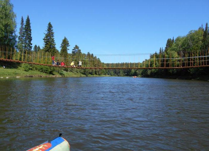 турбазы на реке «Чусовая»