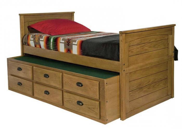 двуспальная кровать с ящиками внизу