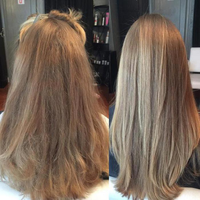 Ботокс для волос после кератинового выпрямления