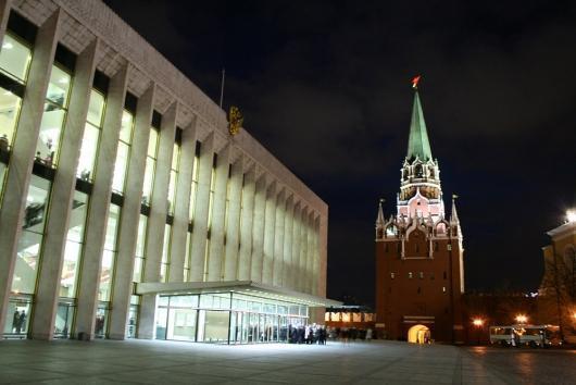 схема Кремлевского дворца.