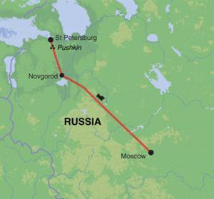 Дорога москва санкт петербург схема фото 78