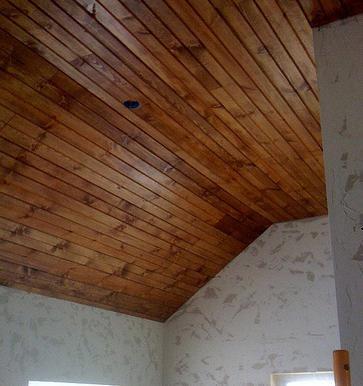 Устройство потолка в бане своими руками