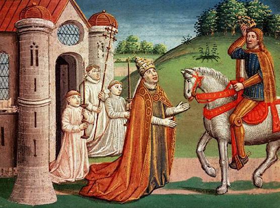 Характерная черта средневекового общества